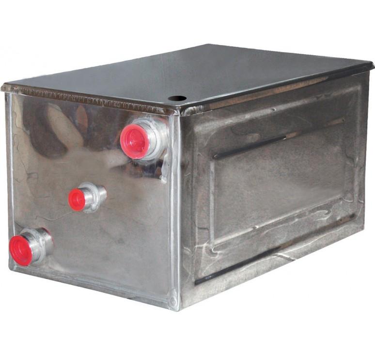 Vaso espansione aperto in acciaio inox aisi 304 da 50 lt for Vaso d espansione