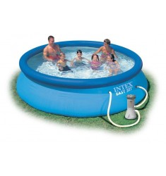 PISCINA INTEX EASY SET D. 366 x H 76 CM CON POMPA FIL. CART. LT/H 2.006