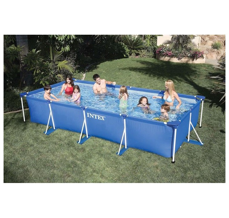 Piscina intex frame rett cm 450 x 220 x h 84 for Offerte piscine intex