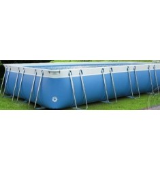 PISCINA LUXURY LARGE 140 RETT. CM 500 x 1000 x H 140 - ACCESSORI NON INCLUSI