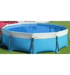 PISCINA MARETTO ROUND WATER D. 400 x H 125 CM - ACCESSORI NON INCLUSI