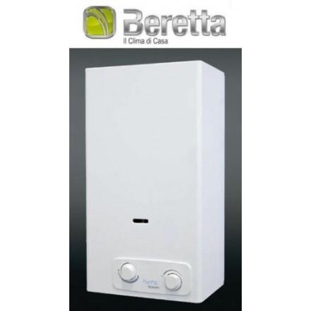 SCALDABAGNO GAS BERETTA FONTE 14 AE - POTENZA 23,5 KW - CAM. APERTA - METANO/GPL