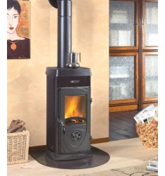 STUFA A LEGNA BRUCIATUTTO NORDICA SUPER JUNIOR - 5 KW - VOL. RISC. 143 MC