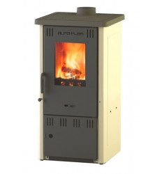 STUFA A LEGNA ELITE 2 - 6 KW - VOL. RISC. 75 MC