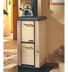 STUFA A LEGNA BRUCIATUTTO NORDICA MIGNON 4 KW - VOL. RISC. 115 MC