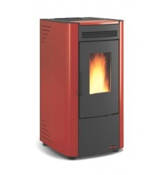 STUFA A PELLET NORDICA KETTY EVO - 6,5 KW - VOL. RISC. 186 MC