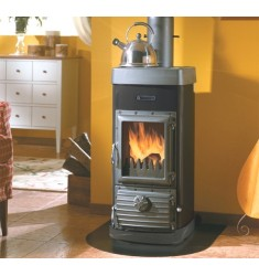 STUFA A LEGNA BRUCIATUTTO NORDICA JUNIOR - 5 KW - VOL. RISC. 143 MC