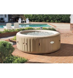 PURE SPA INTEX BUBBLE THERAPY 196X71CM 4 POSTI