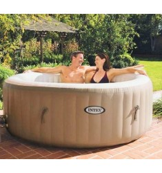 PURE SPA INTEX BUBBLE THERAPY 216X71 CM 6 POSTI