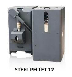 CALDAIA A PELLET SIME STEEL PELLET 12 - 12 KW