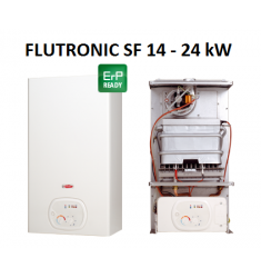 SCALDABAGNO A GAS RADIANT SF 14 FLUTRONIC - CAM. STAGNA - 24 KW