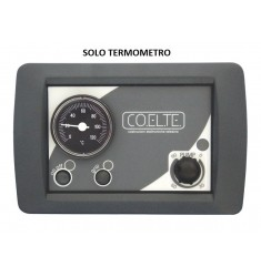 CENTRALINA ELETTROMECCANICA PER TERMOCAMINO AJ 1 TERMOSTATO - SOLO TERMOMETRO
