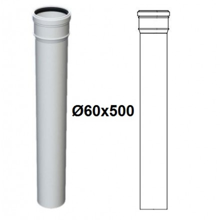 PROLUNGA PPs D.60x500 M/F