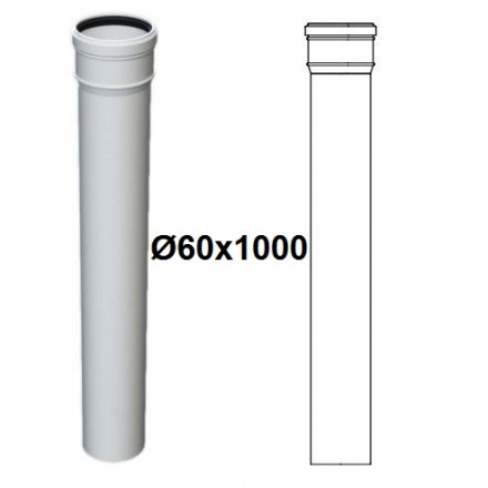 PROLUNGA PPs D.60x1000 M/F