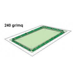 COPERTURA INVERNALE IN PE 100% CON PASSANTI X TUBOLARI 240 gr/mq