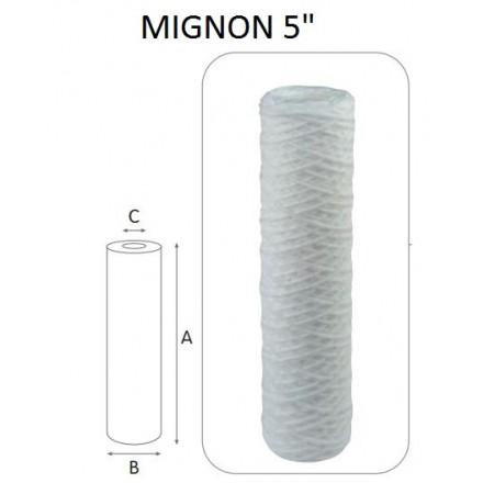 "CARTUCCIA COTONE 25 MCR MIGNON 5"""