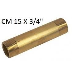 """BARILOTTO OTTONE GIALLO MM 3/4"""" X CM 15"""