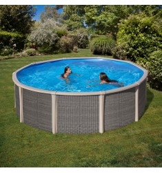 KIT PISCINE IBRIDE GRE FUSION POOL H 135 CM