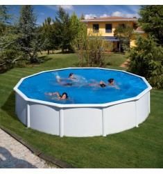 KIT PISCINE GRE DREAM POOL SERIE FIDJI H 120 CM
