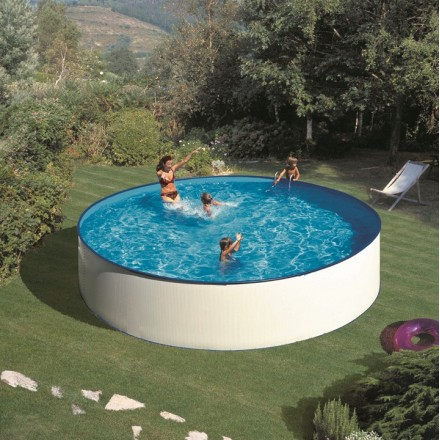 KIT PISCINE GRE DREAM POOL SERIE LANZAROTE H 90 CM